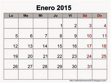 Calendario Enero 2015 Calendario Mes De Enero 2015 Images