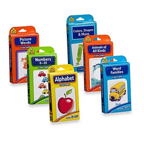 Flash Card Schoolzone 9 school zone publishing company 174 flash cards bed bath beyond