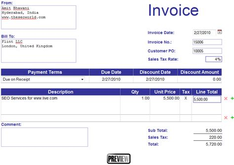 design an invoice create invoice template online free hardhost info