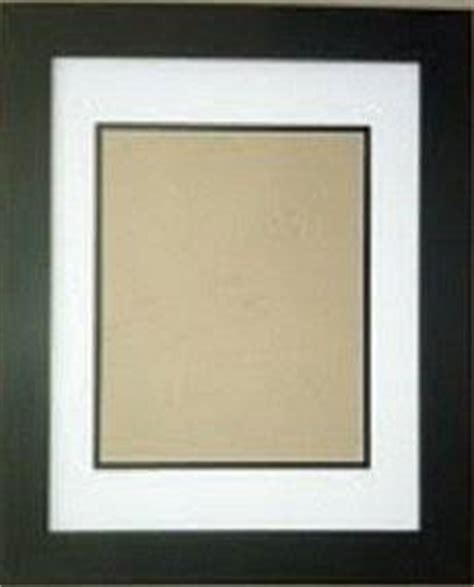 13x19 Matted Frame by 18x24 White Black Mats With 1 1 4 Quot Black Frame For 13x19 Picture Photo
