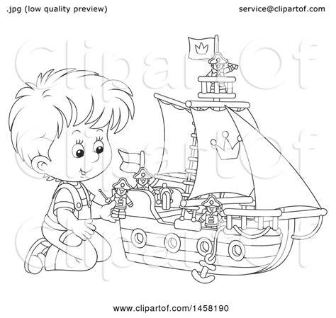 toy boat clipart black and white toy boat drawing at getdrawings free for personal