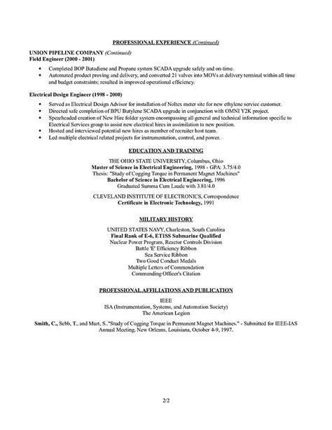 electronics design engineer resume resume for study