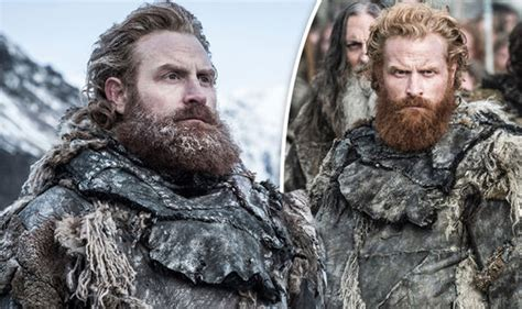 celebrity game of thrones fans game of thrones exposed tormund goes beardless and fans