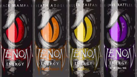 venom energy drink 8 oz venom energy drink 8 pack the flavor black mamba