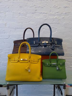Hermes Birkin Croco Mixx decades inc october 2009