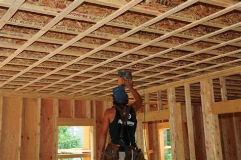 strapping ceilings jlc  framing ceilings