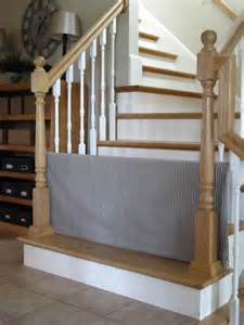 pet gates for stairs tool time tuesday pvc gate and stair baskets