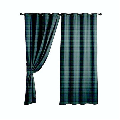 black watch tartan curtains blackwatch 100 wool tartan curtains home bedroom