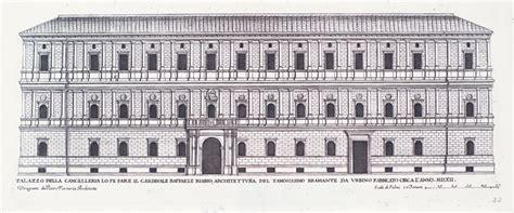 gesimse renaissance palazzo della cancelleria lo fe fare il cardinale raffaele