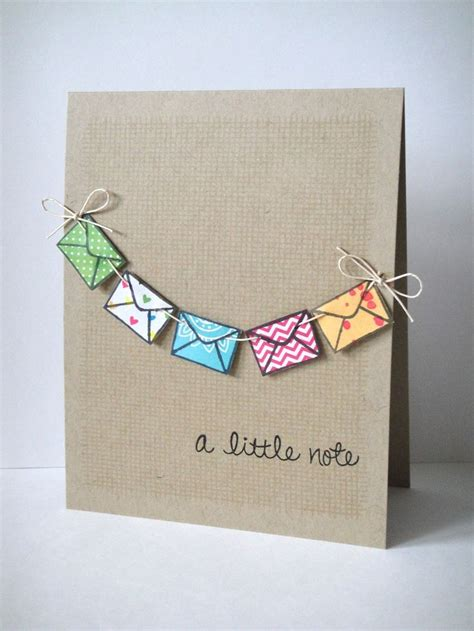 Handmade Diy - the 25 best handmade cards ideas on card