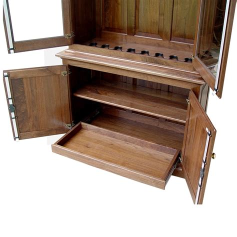 amish woodworking amish woodworking 50515 heritage 8 gun cabinet solid