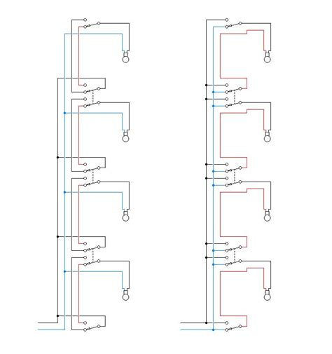automatic staircase light circuit electric wiring diagram for staircase efcaviation com