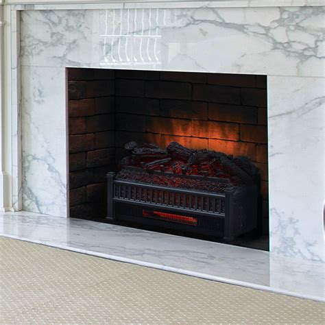 23 Electric Fireplace by Comfort Smart 23 Quot Infrared Electric Fireplace Log Set Elcg240 Inf