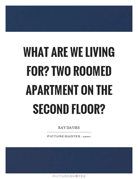 what are we living for two roomed apartment on the second