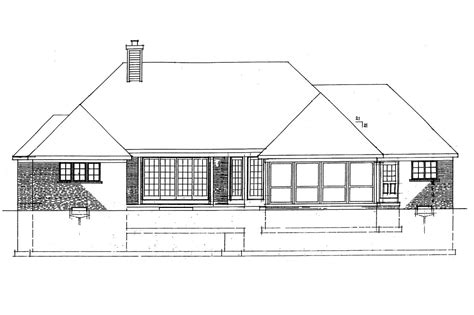 House Plans For View Lots by House Plans Rear View Lot Home Design And Style