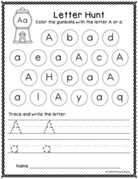 Letter Identification Worksheets by School Letter Activities On Letter Recognition Letter I