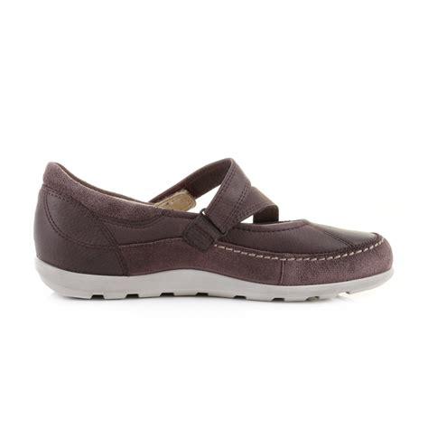 ecco flat shoes womens ecco cayla mj dusty purple leather comfort flat