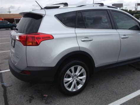 Toyota Extended Warranty Buy Used 2013 Toyota Rav4 Limited Edition Suv With