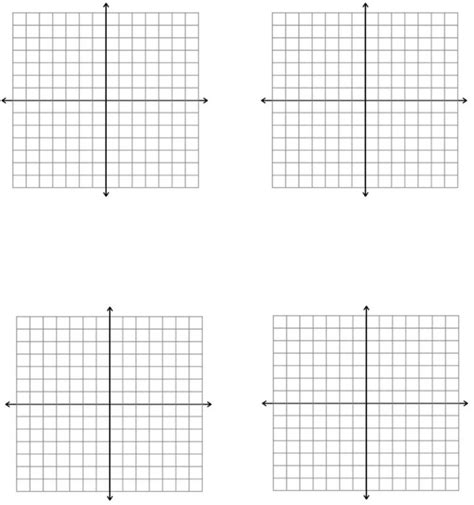 printable graph paper x y axis 14x14 axes graph paper template free download