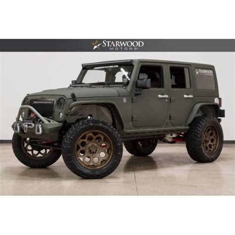 jeep wrangler custom lift starwood motors 2016 jeep wrangler unlimited rubicon