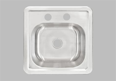 less care lt62 15 inch kitchen and bar top mount sink
