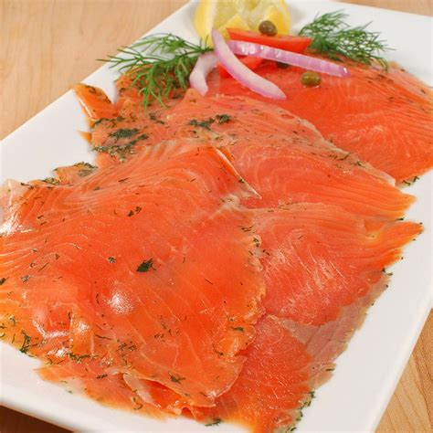 norwegian gravadlax smoked salmon trout superior sliced by fossen from norway buy smoked