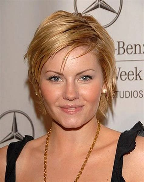 This Seasons Best Short Hairstyles For Round Faces   Women