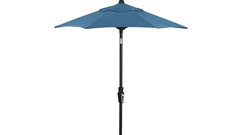 Black Patio Umbrellas On Sale 6 Sunbrella 174 Turkish Tile Patio Umbrella With Tilt Black Frame In Patio Umbrellas