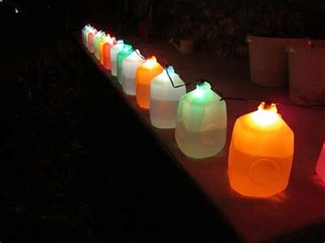 milk jug lights random pinterest