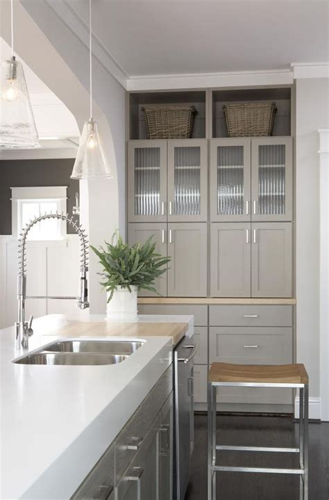 greige kitchen cabinets pin by andrea k on when i re do the kitchen pinterest