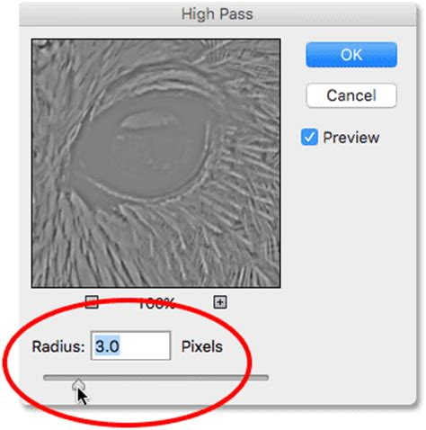 high pass filter for sharpening sharpen images in photoshop with the high pass filter