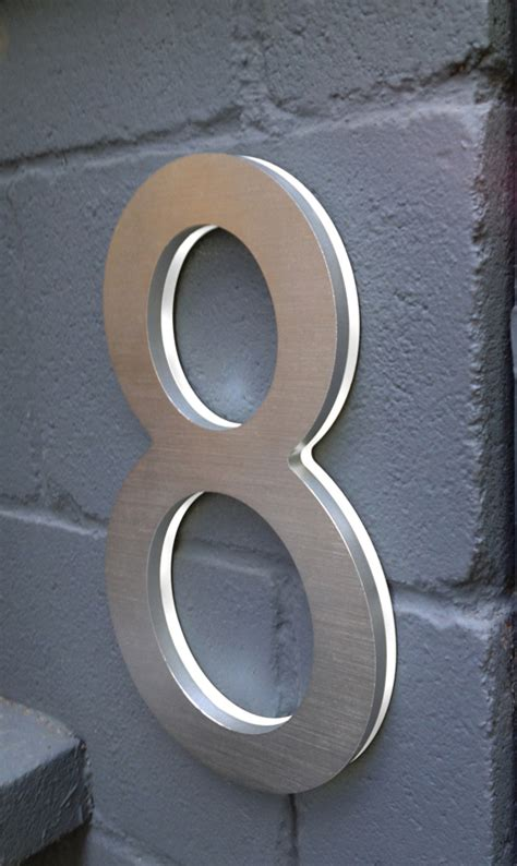 Address Directory Luxello Modern 10 House Address Numbers Surrounding