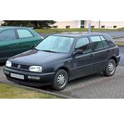 VW Golf 3 Technical Details History Photos On Better