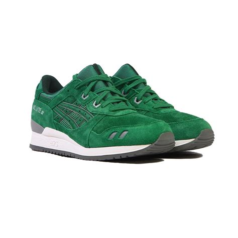 Asics Gell Lyte Iii Green For Green Asics Shoes Gel Tennis Shoes