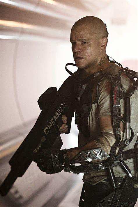 New Elysium Pic See Matt Damon In His Robo Suit