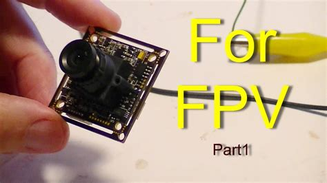 fpv part  sony pz camera review  wiring setup youtube