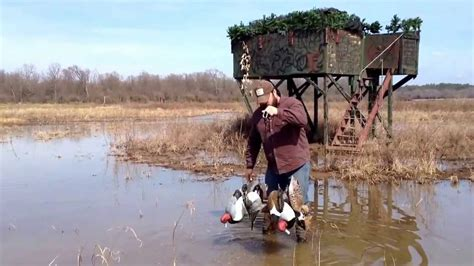duck hunting boat rigs sw rig demonstration for duck hunting and decoy