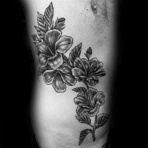 flower tattoo designs for guys 80 hibiscus designs for flower ink ideas