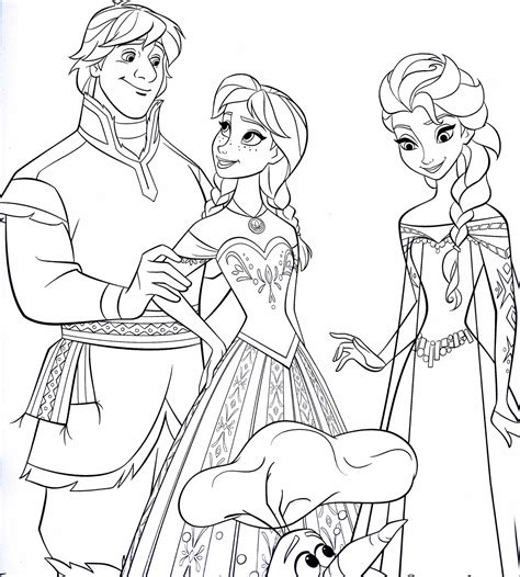 frozen coloring pages kristoff walt disney coloring pages kristoff princess anna queen