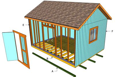 free building plans build a 16x12 shed free plans and materials list i searched hi and lo and finally found free