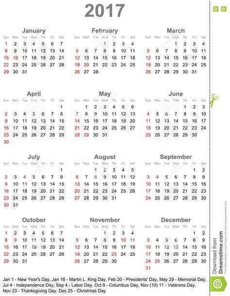 Astrologische Kalender Voor Nederland Belgie En Kolonien Voor 1938 kalender 2017 voor de v s weekbegin op zondag vector illustratie illustratie bestaande uit