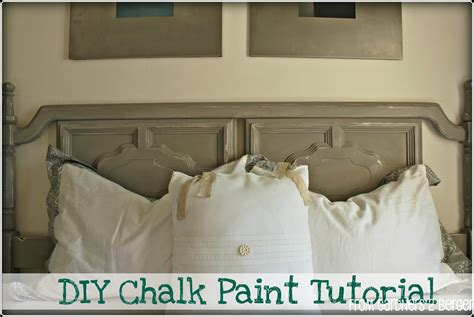 diy chalk paint mixture from gardners 2 bergers diy chalk paint tutorial