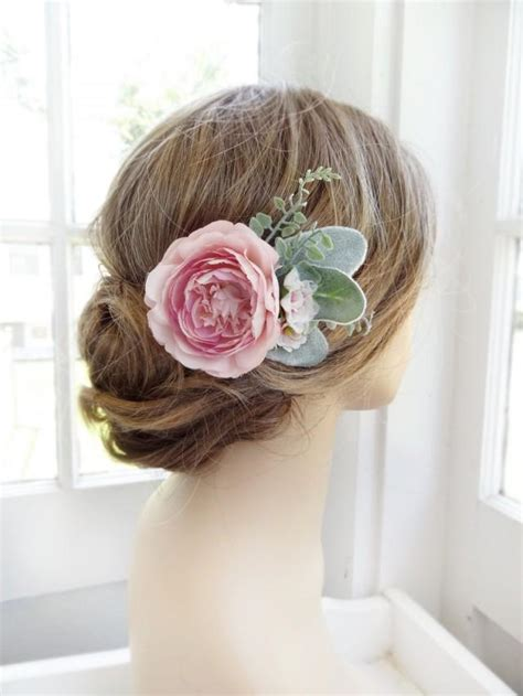 how to make wedding floral hair accessories hgtv gardens pink hair flower bridal hair clip wedding headpiece