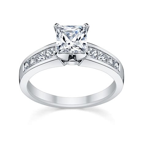 engagement rings 6 princess cut engagement rings she ll love robbins