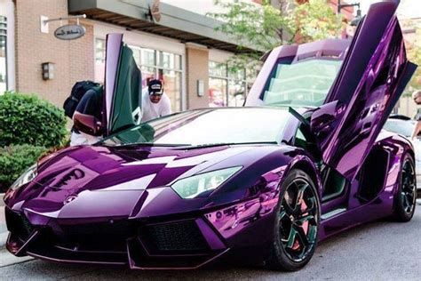 lamborghini dark purple metallic purple lamborghini aventador rides pinterest