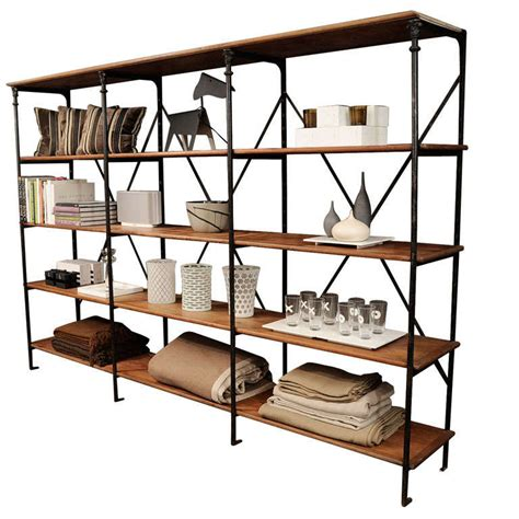 industrial open shelving at 1stdibs