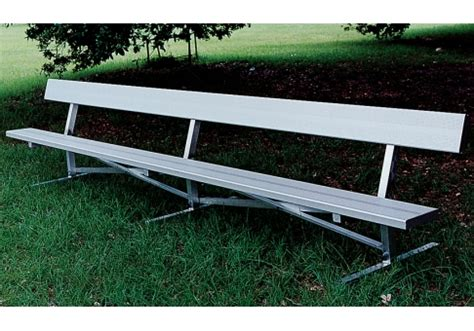 aluminum park bench 6 aluminum park bench commercial site furnishings