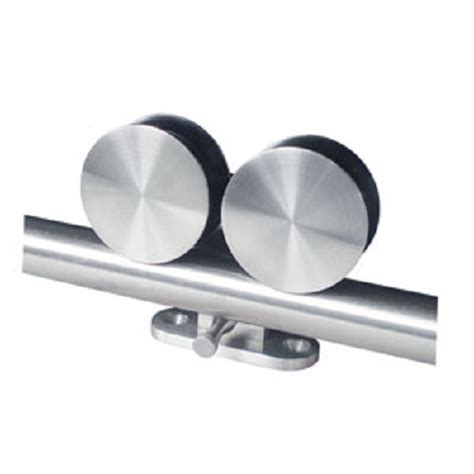 sliding barn door track rollers stainless steel quot roller design quot sliding barn door