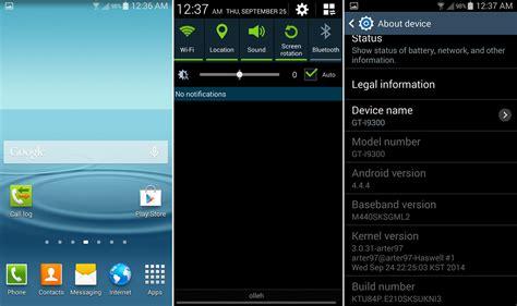 Samsung S3 Kitkat mejor rom kitkat samsung galaxy s3 i9300 android jefe