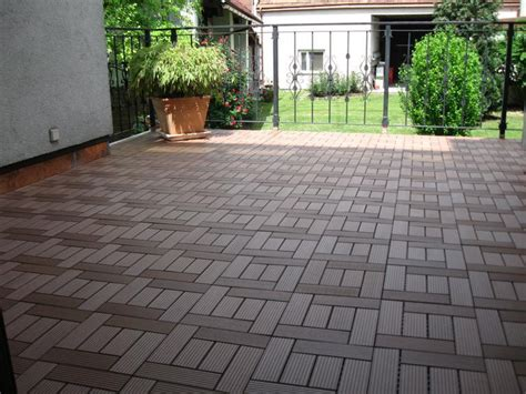 Outdoor Easy Install Diy Wpc Tilewpc Flooring